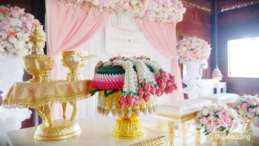 สถานที่จัดงานแต่งงาน เรือนไทยสิริ