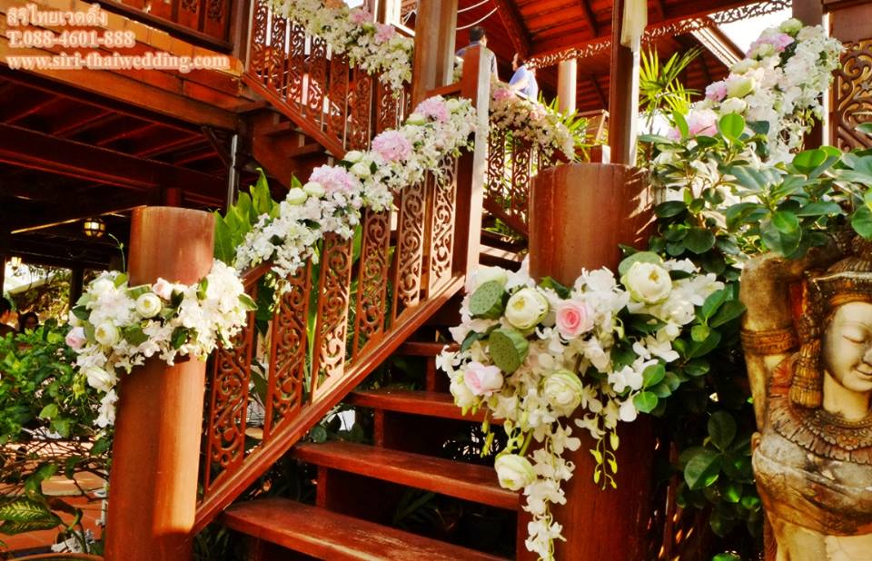 แพ็คเกจแต่งงาน เรือนไทยรามอินทรา by siri thaiwedding